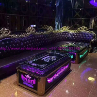 custom logo/size ktv tea table, ktv bar table, led coffee table