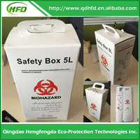 HOT!!!biohazard medical waste sharps container box