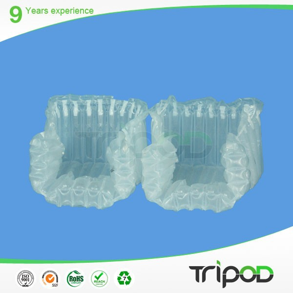 2014 Top selling plastic air bag with valve packaging for fragile goods