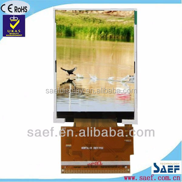 2.8 inch TFT LCD module without touch panel with MCU interface color screen