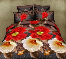 microfiber polyester 3d printed bedding set made in india
