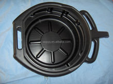 black round plastic oil pan with high quality for sale