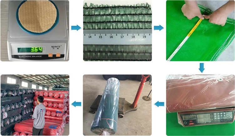 Hebei Tuohua supply HDPE Flat Wire agricultural shade net