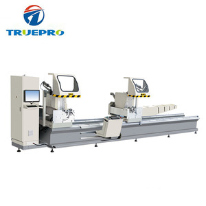 Good quality cnc double head cutting saw