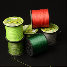 PE braided fishing line with high strength, 3-12 strands optional, great casting distance, smooth surface, 100m/200m optional