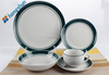 Modern luxury porcelain tableware with decals (canton fair)