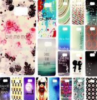 Colorful Ultra Thin TPU Soft Silicone Back Case Cover