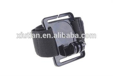 New Hot for gopro Accessories Wrist Strip Mount / Wrist Band With Screw for gopro