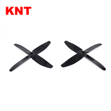 KNT latest 4 blades Props CW CCW 5x4 inch 5040 rc aircraft propeller for FPV racing drones