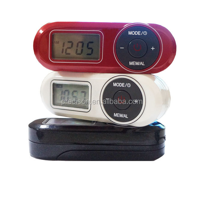 FM digital radio with speaker and antenna via earphone ,digital display,100%PLL,stereo sound