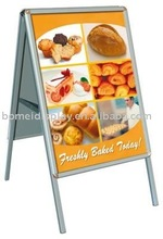 a board advertising display,sign board samples