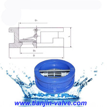 Tianjin factory 300x hydraulic flow control ANSI check valve