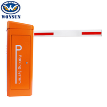 High Speed Traffic Barrier Gate With Backup Battery