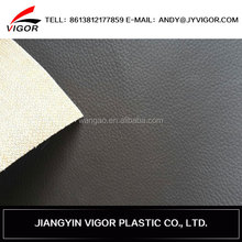 Wholesale new arrival high quality pvc sponge leather car upholstery