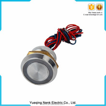 High quality 22MM Piezo Switch Waterproof IP68,momentary on off Normally open,Piezoelectric anti vandal Metal Push button