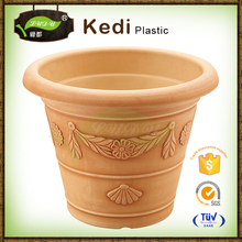 10% discount beige spray paint outdoor planters / cheap plastic flower pots / garden and planting