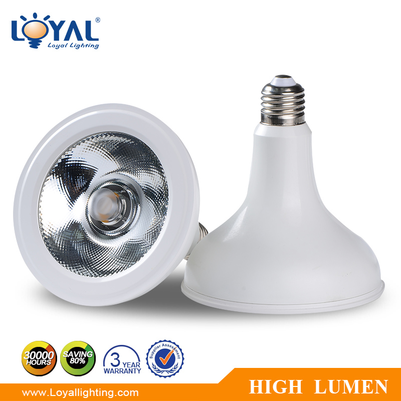 IP20 indoor 12w 15w 18w cob led par38 par20 led light bulbs slim warm white mini led par light fixture