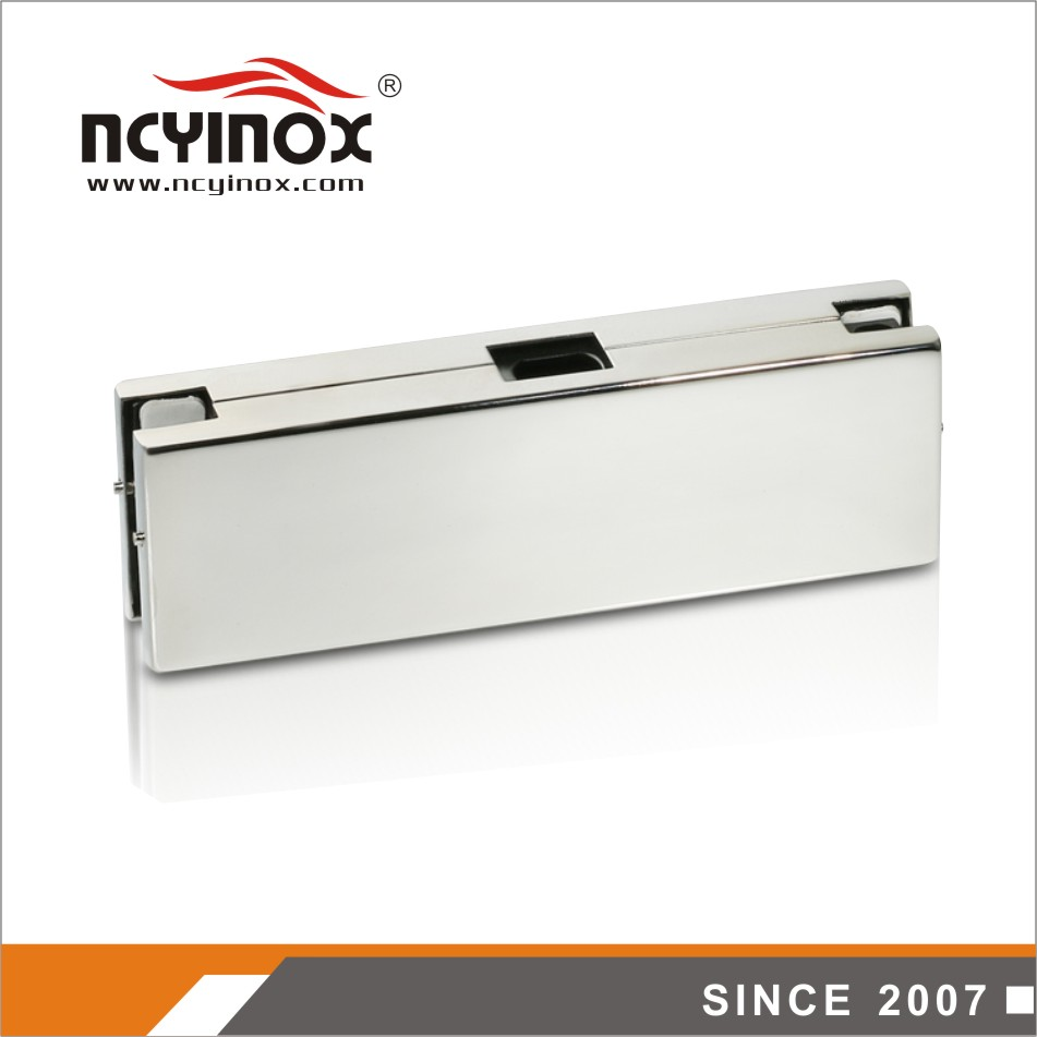 Lower price high quality center box glass door patch fitting