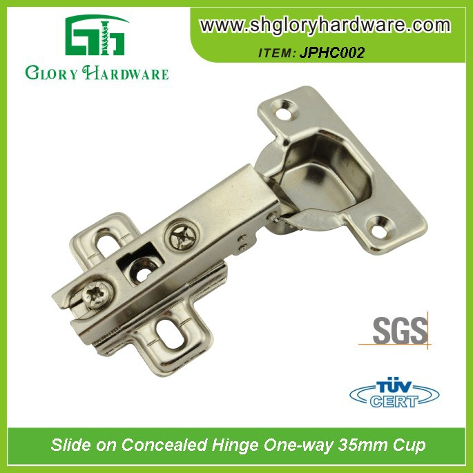 China Glory Slide on Conceal Hinge One Way 35mm