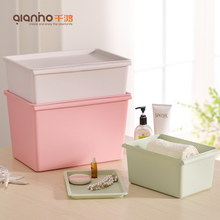 Cheap customized color document papar storage cabinets plastic tote bins