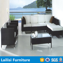 Mix style mix color wholesale rattan wicker sofa furniture /rattan cube garden furniture