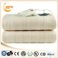High Quality Portable Anti-Pilling Synthetic Wool Electric Under Blanket