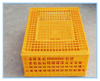 Durable plastic duck transport crate plastic chicken crate price
