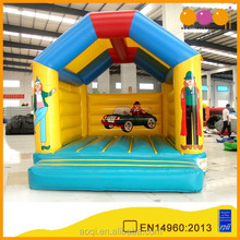 AOQI factory price tent shape inflatable jump bouncer for kids for sale