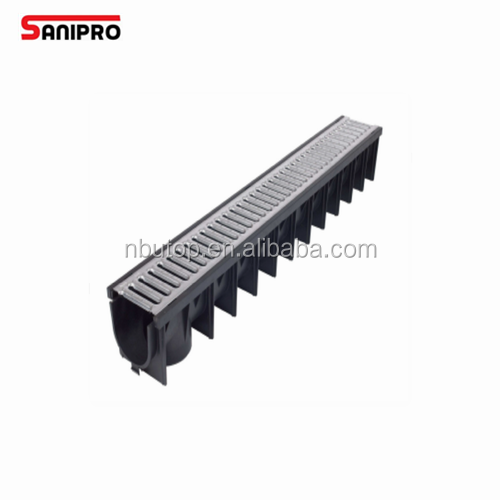 U drain linear floor drain sink drain cover surface water drainage