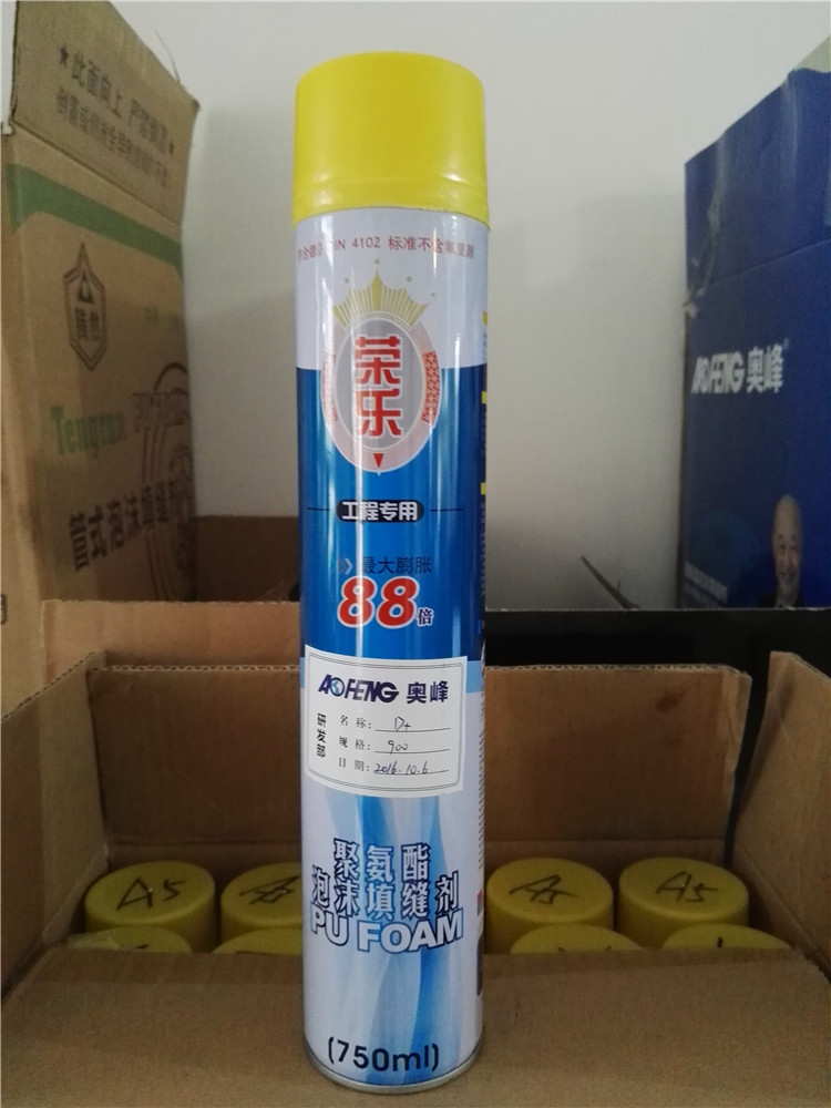 High Inflation Rate 750ml Can Construction Filling Agent polyurethane foam adhesive
