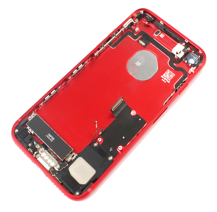 colorful back cover housing for iphone 7 mini housing