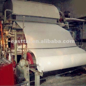 Toilet paper manufacturing machine
