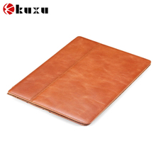 New Design Genunie leather Case for ipad 2