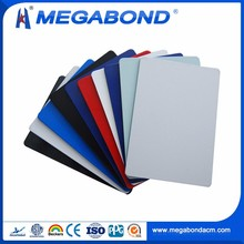 Megabond 3mm 4mm 5mm 6mm aluminum composite panel acp white external wall cladding,white cladding specification