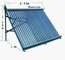 2013 new non-pressure solar collector, glass vacuum tube energy system,solar energy home swimming pool system
