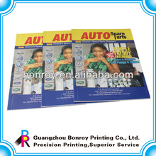 Cheap advertise sample school brochures printing in china