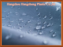 Coated polyester water resistant fabric
