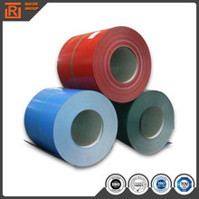 Prepainted GI steel coil / PPGI / PPGL color coated galvanized steel sheet in coil from Tiajin factory