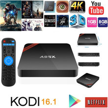 2GB 16GB Android 6.0 Smart TV Box Amlogic s905x Quad Core WIFI a95x android stb