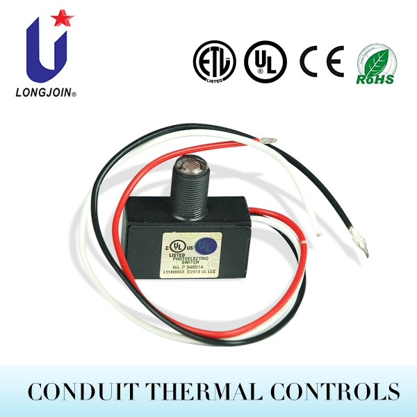 Wiring Photocell Light Control: JL-101 Wire-in Photoelectric Switch Photocell, View Wire