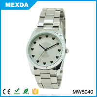 Stainless steel case quartz watch japan movt brand name ladies watches