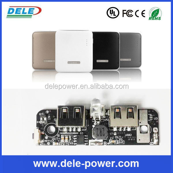 DC 5V Led Torch Power Bank supply power for iphone ipad, HTC, Blackberry, Samsung, Micromax, Nokia etc