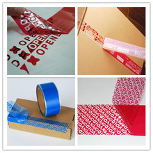 Hot sales!Security Custom Tamper Proof Packing Safety Seal Tape