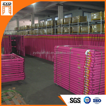 Jiangyin High Quality Steel Galvanized Scaffolding Frame