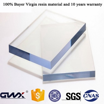 Transparent Polycarbonate Glass Lexan Plastic Police PC Shield