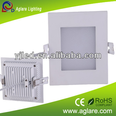 2013 hot sale lowest price 5W flat LED panel for meeting room