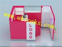 Small size mobile manicure | nail kiosk with Unique design