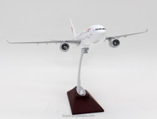 resin crafts 37CM China Eastern airbus A330 scale model aircraft 1 100 for diaplay