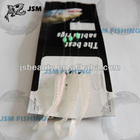 White Soft Fish Lure Fishing Rig Fish Finder