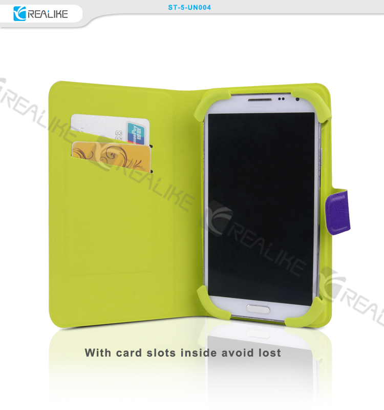 strong protect leather flip mobile phone case for lenovo s820 , case for lenovo s820 smartphone